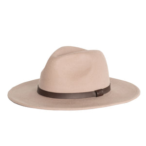 Me and the brave sand wide brim fedora hat for kids and adults