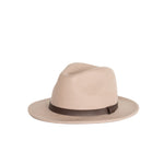 Me and the brave kids sand wide brim fedora hat