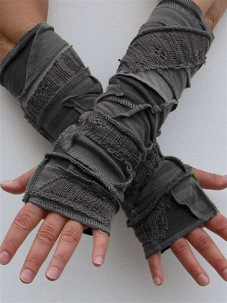 Autumn Winter Casual Basic Knitted Gloves