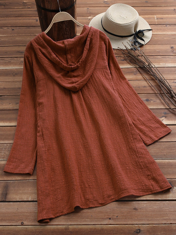 Long Sleeve Shift Dresses
