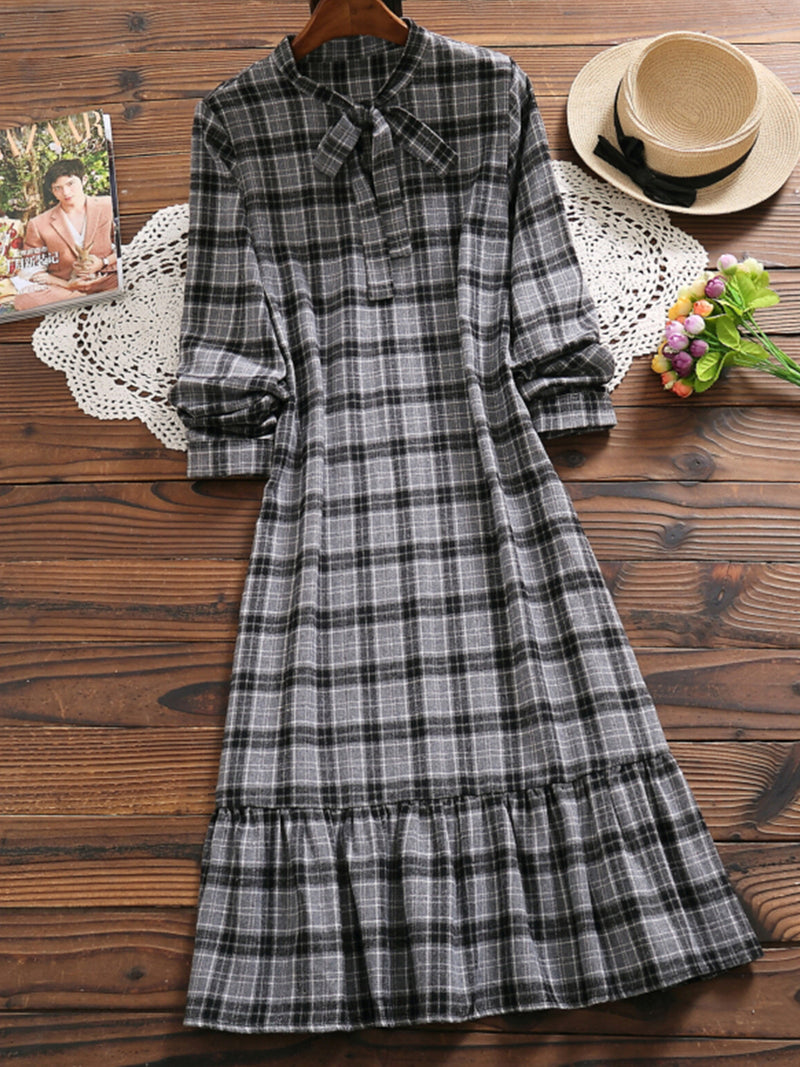 Casual Cotton Midi Dress