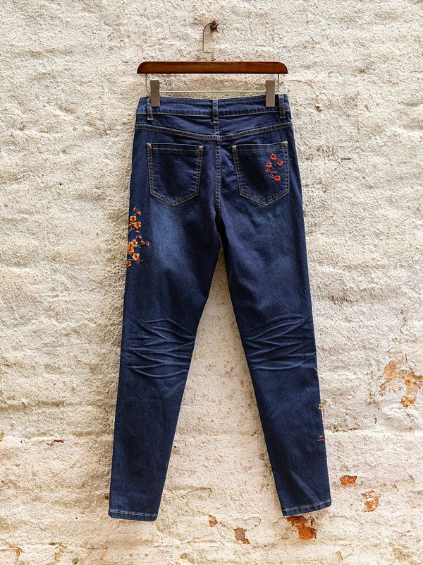 Deep Blue Denim Pants