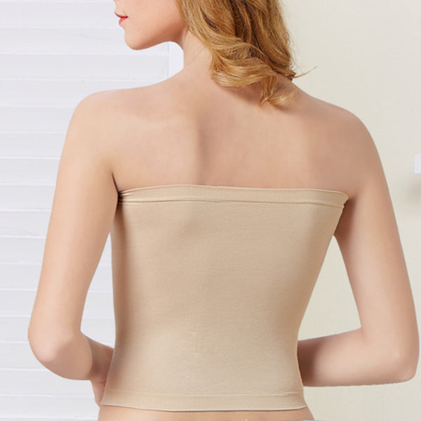 Cotton Seamless Elastic Bandeau
