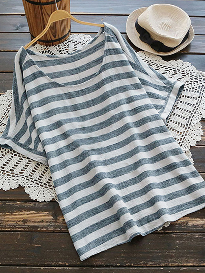 Sweet Casual Basic Short Sleeve Shift Daily Maxi Dress