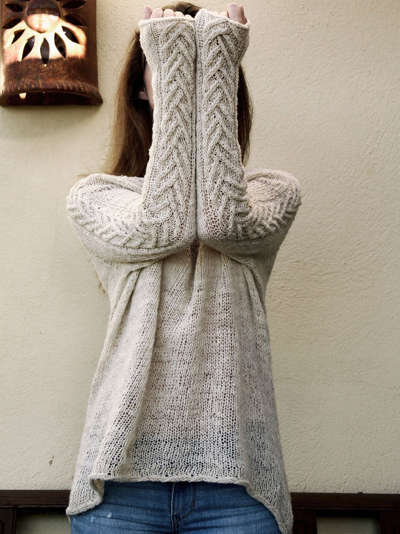 Casual Shift Knitted Sweater