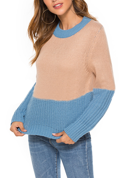 Vintage Casual Knitted Sweater