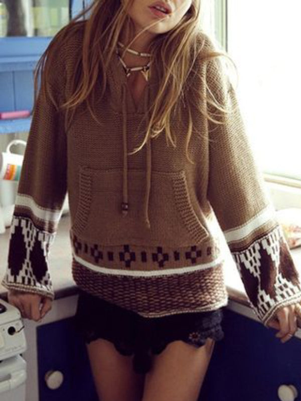 Tribal Casual Hoodie sweater