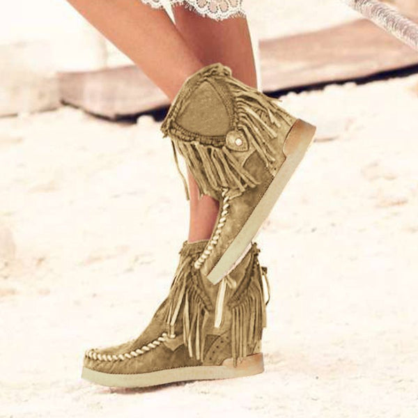 Tassel Daily All Season Boots