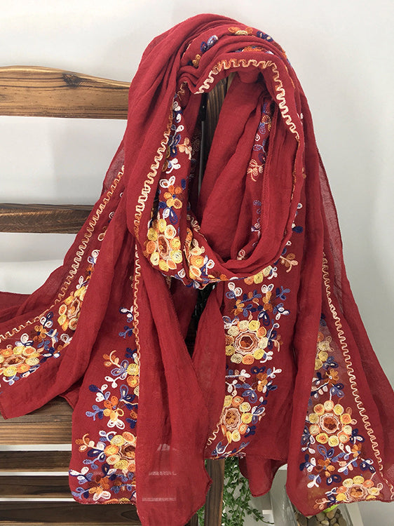 Cotton Scarves & Shawls