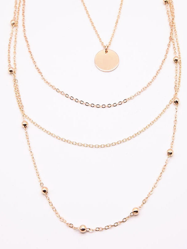 Womens Vintage Alloy Necklaces