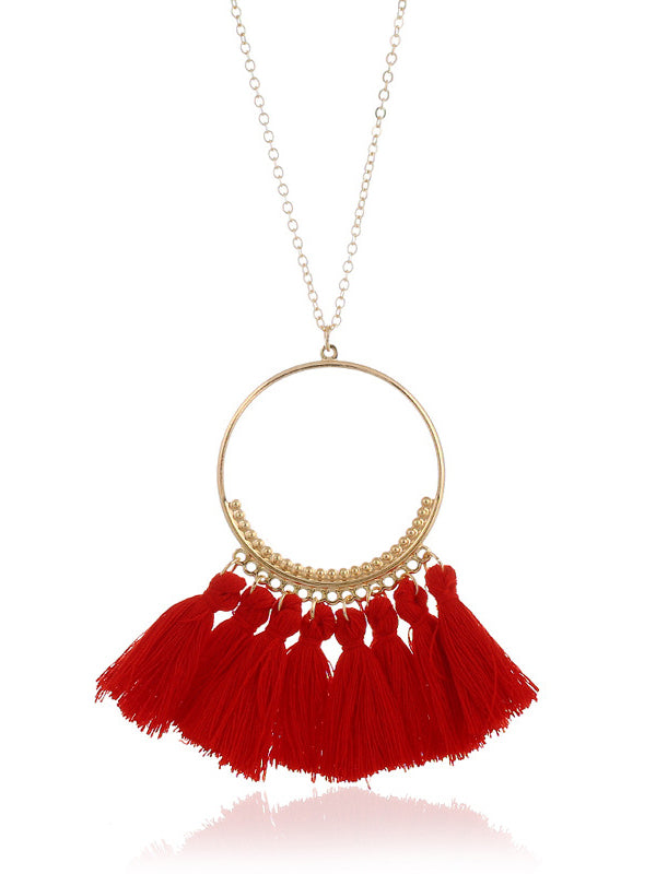 LongTassel Necklace