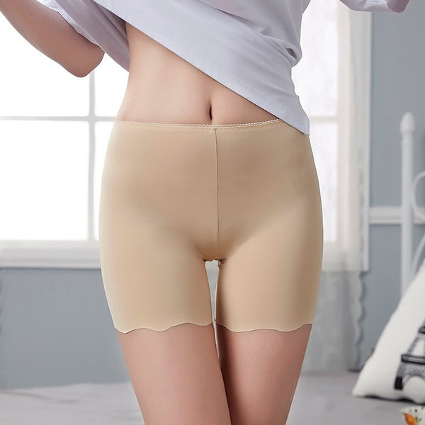 Comfortable Ice Silk Seamless Boyshorts Panties For Women