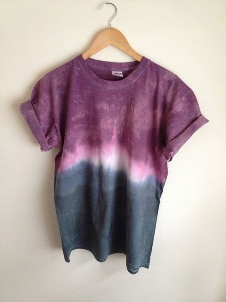 Short Sleeve Round Neck Casual Tie-dye T-shirt