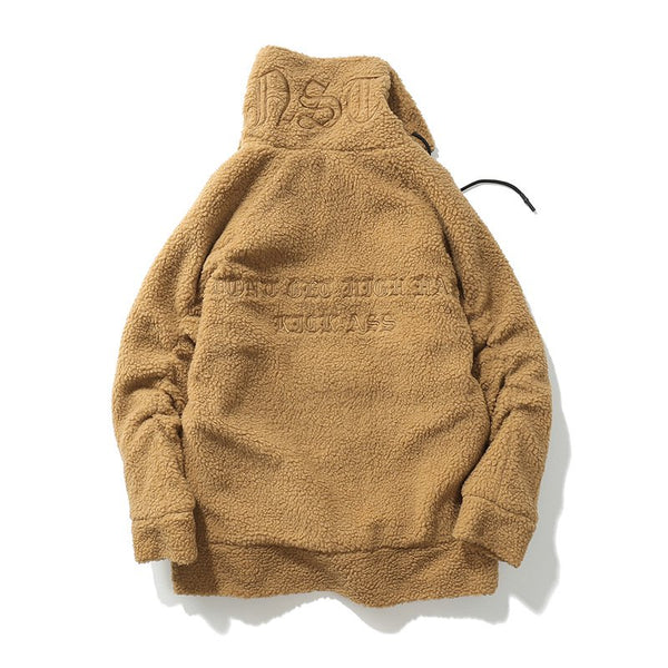 Letter Casual Hoodie Outerwear