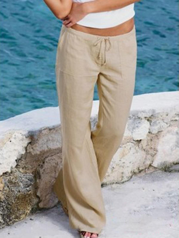 Casual Cotton Pants