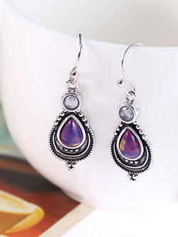 As Picture Alloy Vintage Earrings