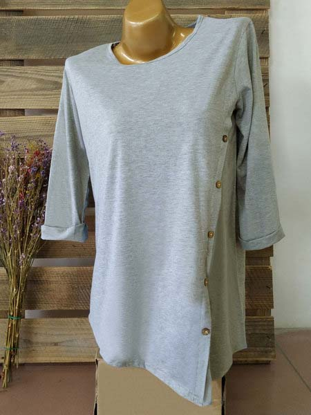 3/4 Sleeve Casual T-Shirts