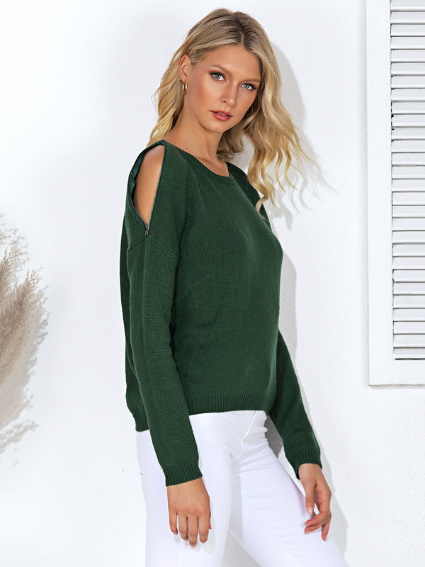 Casual Solid Sweater