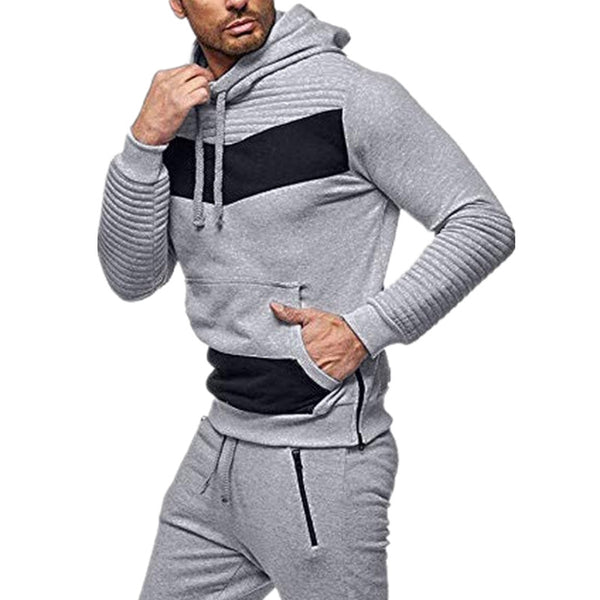 Striped Casual Hoodie Outerwear