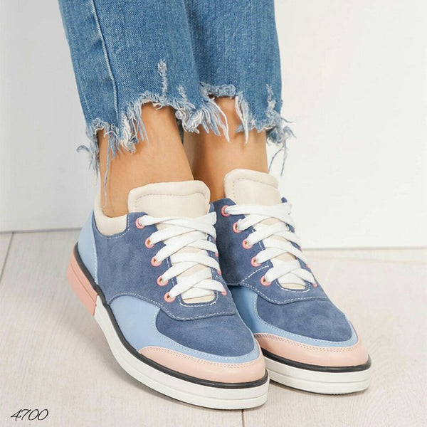 Women Casual Lace-up Sneaker Shoes
