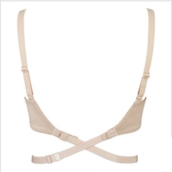 Adjustable Cross Bra Straps Extender Hook Backless Bras Belt