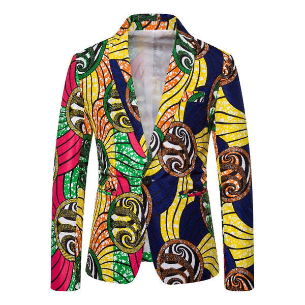 As Picture Tribal Printed Cocktail Cotton-Blend Outerwear