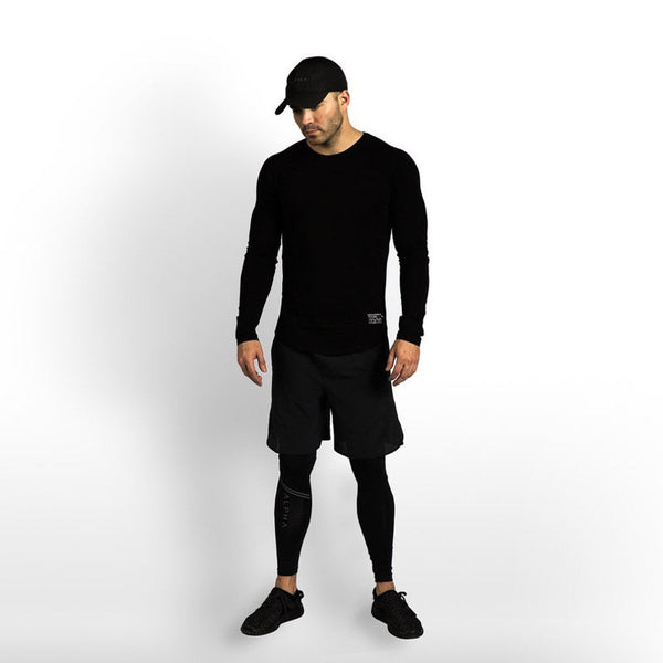 Men's Sports Leisure Running Stretch Long-sleeved T-shirts