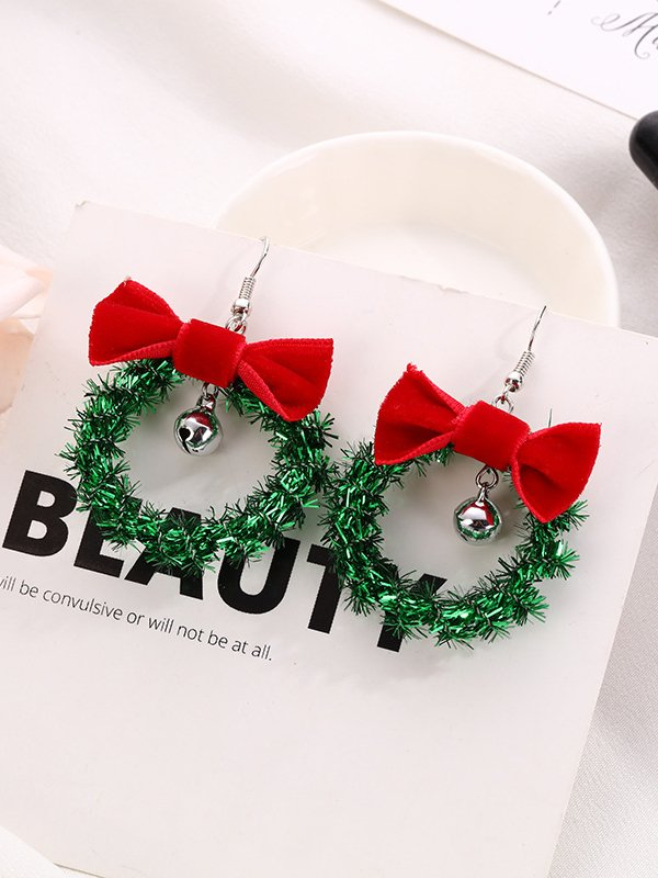 Chritmas Alloy Earrings
