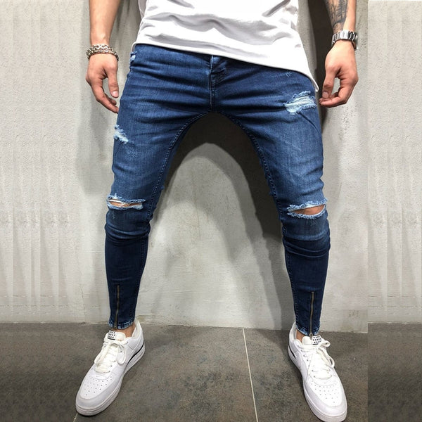 Fashion Men's Ripped Jeans