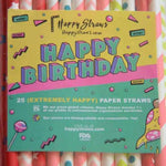 NEW! 25 Paper straws pack