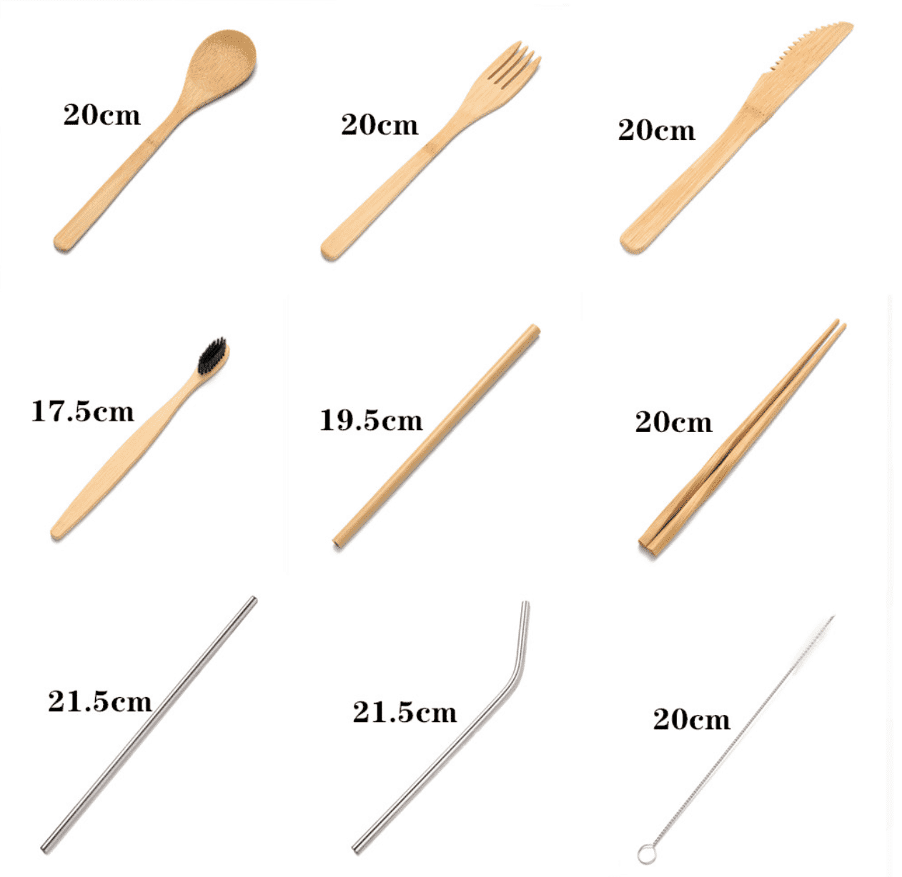 SALE! BAMBOO 10 PCS SET