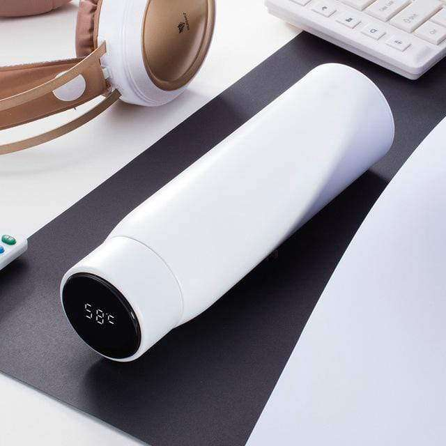 Stainless Steel Hot & Cold Intelligent Thermal Insulated Water Bottle