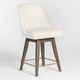 Vickie Swivel Counter Stool (4536505794645)