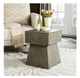 Zen Indoor - Outdoor Mushroom Modern Concrete Accent Table (4095304106069)
