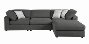 Serene Upholstered Stationary Sectional (4184354488405)