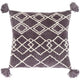 Charcoal Braith Pillow