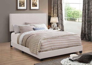 Boyd Upholstered Ivory Bed (2682832388181)