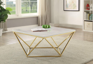 Modern White Coffee Table (2682822656085)