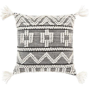 Black Faroe Pillow (2682805715029)