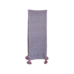 Table runner red and blue (4693840855125)