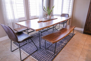 "Indian 84"" Acacia Dining Table (2697940041813)"