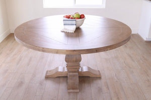 Florence Round Formal Dining Table (2682814529621)