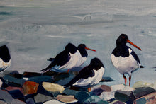 Load image into Gallery viewer, Piod y Môr - Sold- Oystercatchers