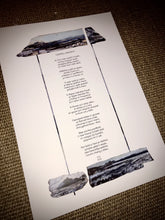 Load image into Gallery viewer, Cerdd Cricieth - FFG 2020 - Criccieth poem