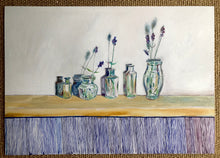 Load image into Gallery viewer, Potiau a lafant-Lavender pots