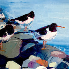 Load image into Gallery viewer, Piod y môr - Oystercatchers / Sold