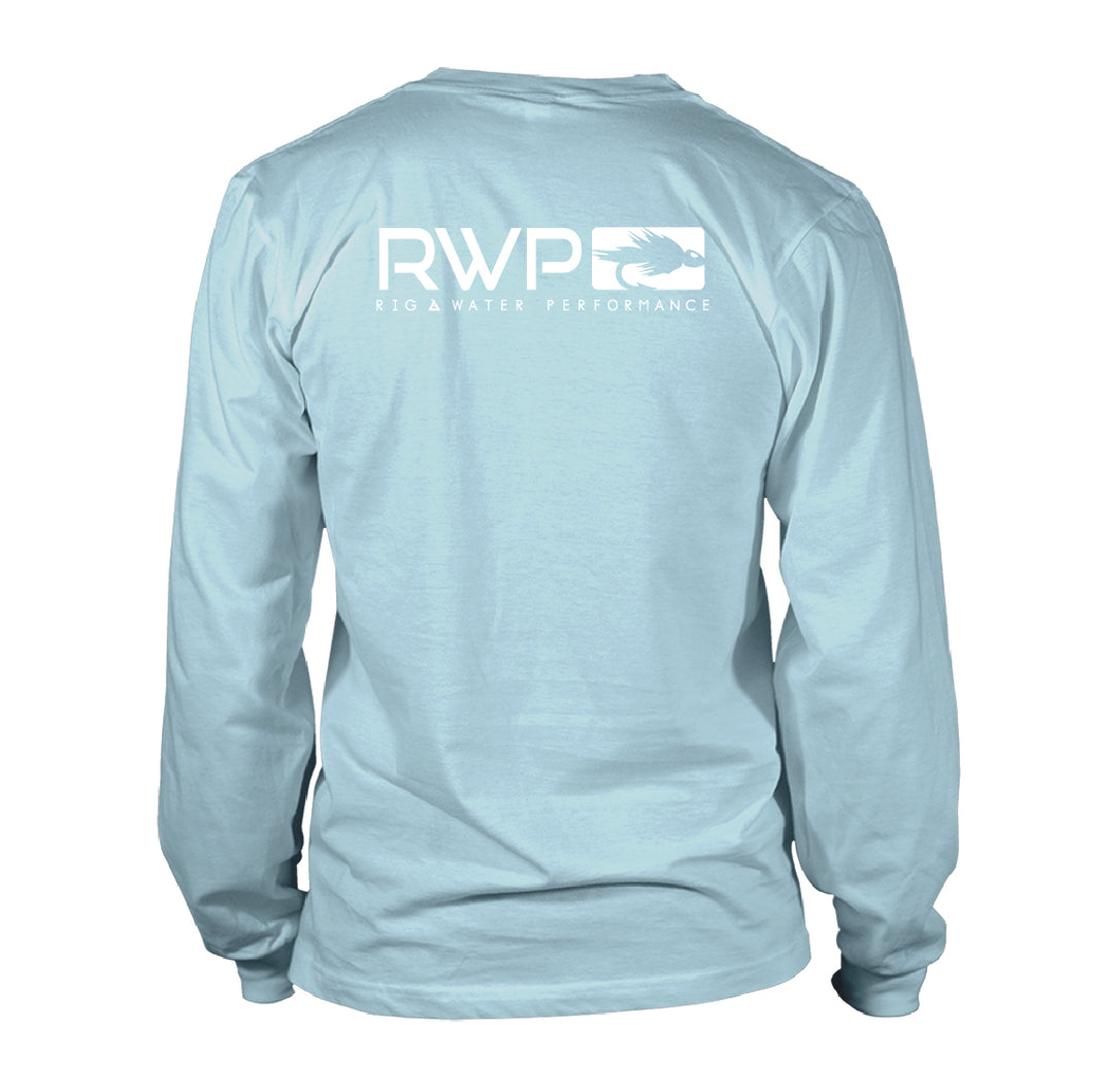 Boy's Long Sleeve UV50 -RWP - Core Line 01 - Sky Blue