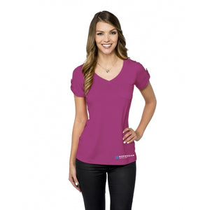 NCL Ladies Cuffed Sleeve Knit Top