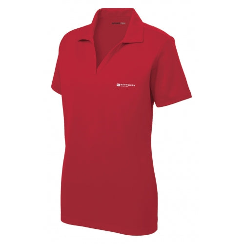 Ladies Racer Mesh Polo