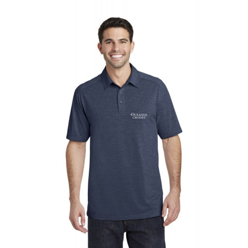 Oceania Men's Heather Performance Polo